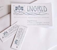 Ingrid Jewelry identity suite