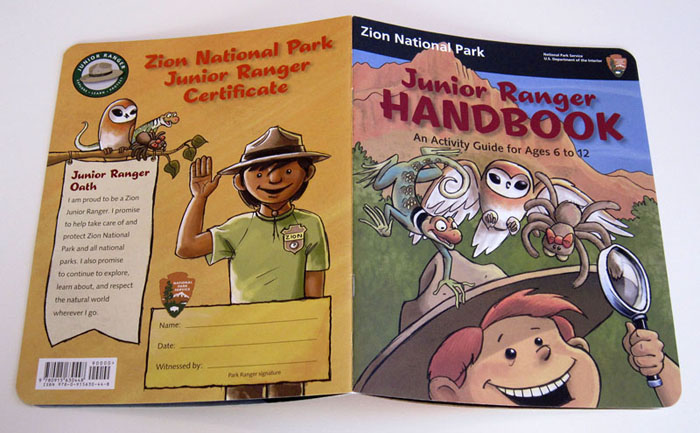 Zion National Park Junior Ranger Handbook