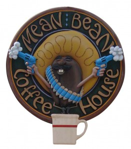 Mean Bean sign